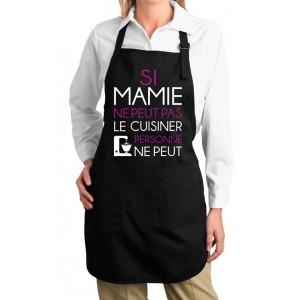 Tablier Si mamie ne peut pas le cuisiner