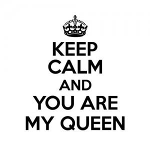 Mug keep calm Queen