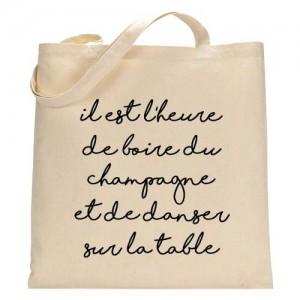 Tote Bag champagne