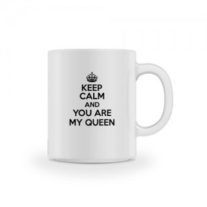 Mug keep calm Queen