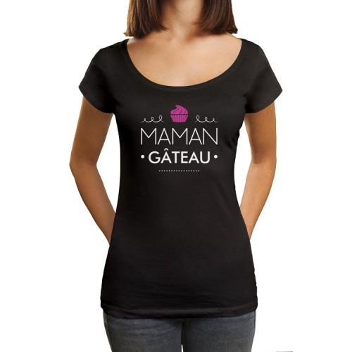 T-shirt maman gâteau