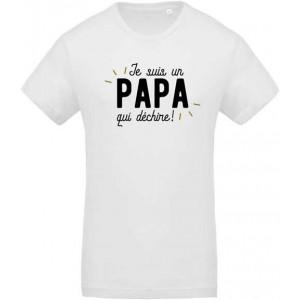 T-shirt papa qui déchire