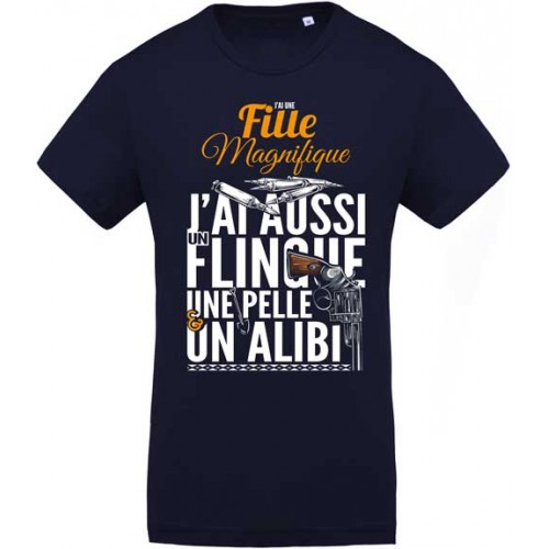 Tee shirt Fille magnifique - L'original