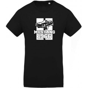 T-shirt Mustang 1966