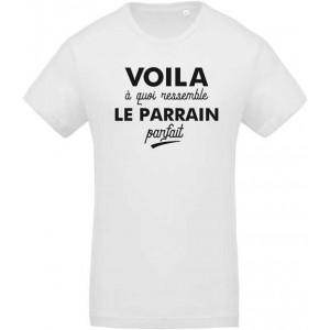 T-shirt voila à quoi ressemble le parrain parfait