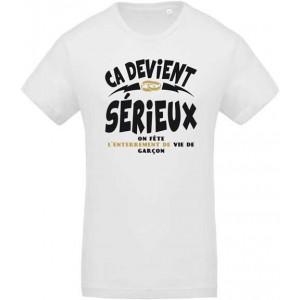 T-shirt Ca Devient Sérieux (Garçon)