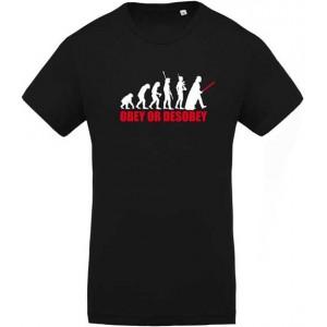T-shirt Obéis ou Désobéis