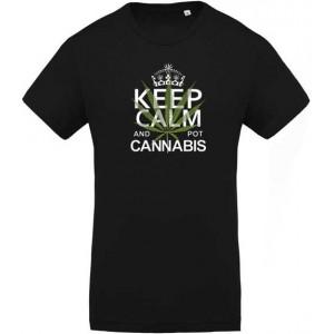 T-shirt Keep Calm Cannabis