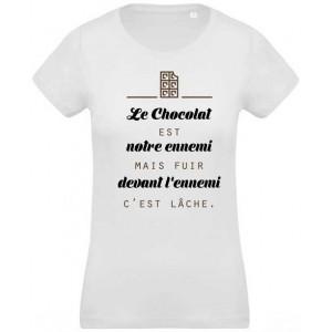 Tee shirt chocolat