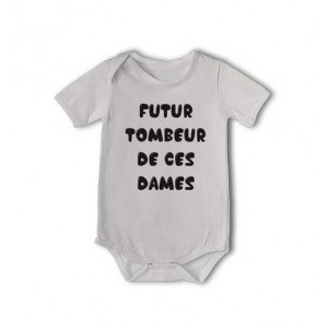 T-shirt et body  Futur tombeur