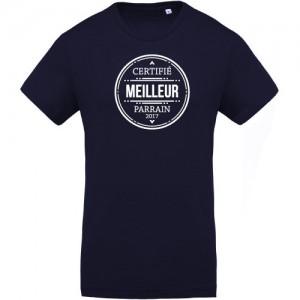 T-shirt certifié meilleur parrain