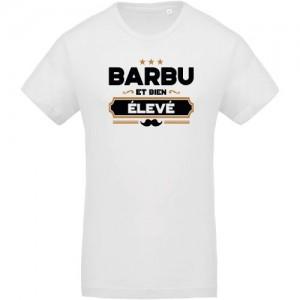 T-shirt barbu et bien élevé