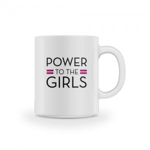 Mug Power to the Girls