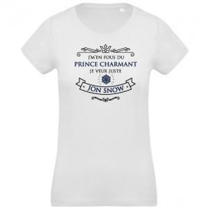 T-shirt Prince charmant Jon Snow