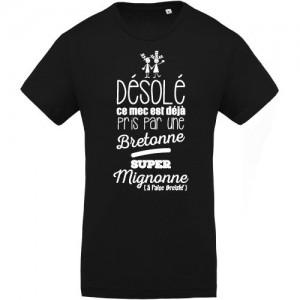 T-shirt ce mec est deja pris bretonne