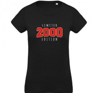T-shirt limited 2000
