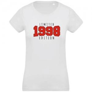 T-shirt Bio anniversaire Limited 1998