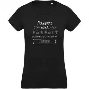 T-shirt Personne n'est parfait 1993