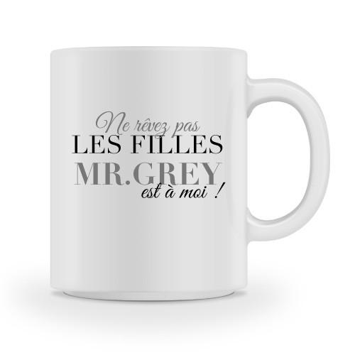 Mug Mr.Grey est à moi