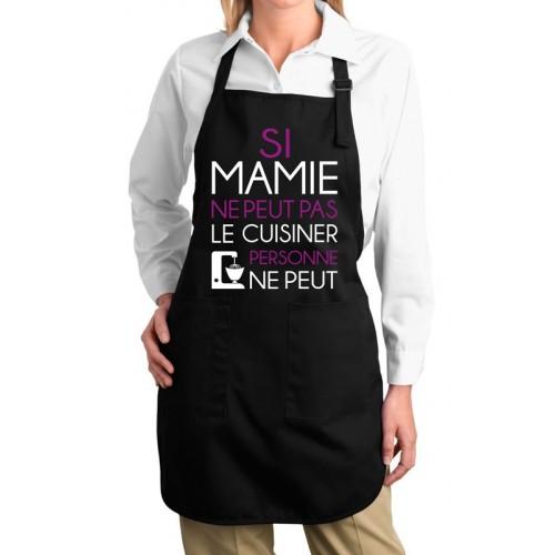 Tablier si mamie ne peut pas le cuisiner - Cuisiner pour une personne ...