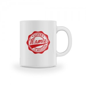 Mug super mamie la meilleure