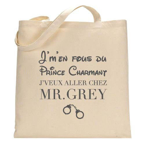 Tote Bag Mr.Grey