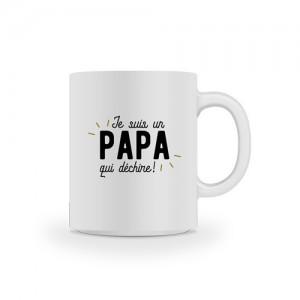 Mug papa qui déchire
