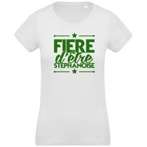T-shirt Fière d'être stéphanoise