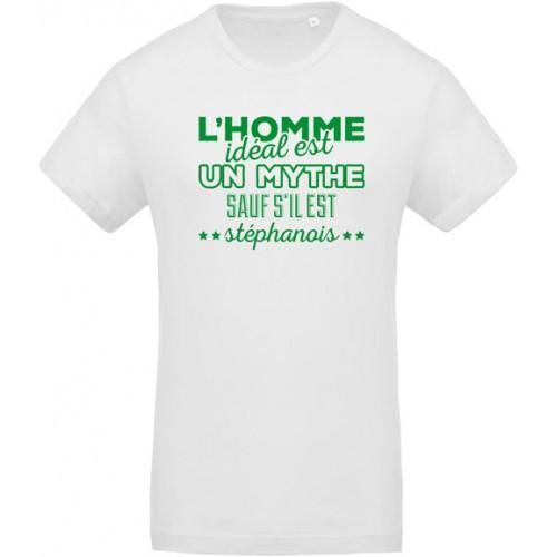 T-shirt Homme idéal stéphanois