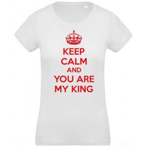 T-shirt keep calm couple