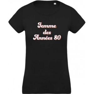T-shirt femme des années 80