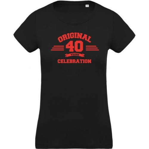 T-shirt orginal 40 ans