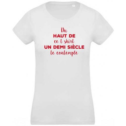 T-shirt demi siècle