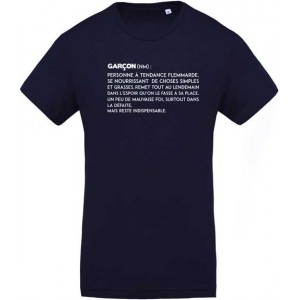 T-shirt definition garçon