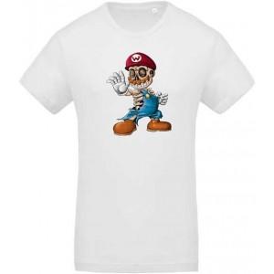 T-shirt Zombie Mario