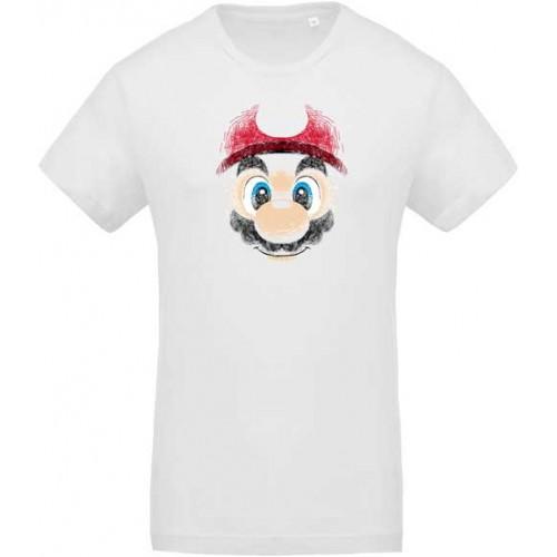 T-shirt  Mario Bros Dessin