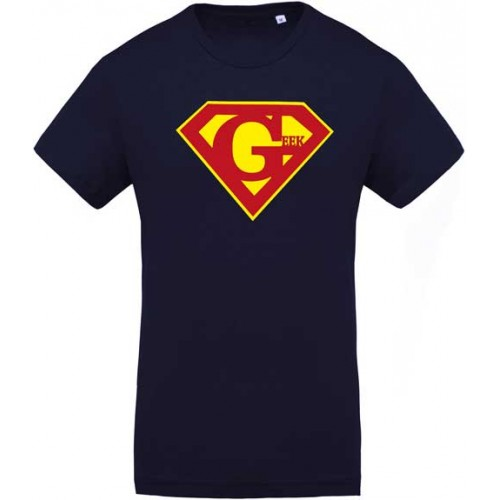 T-shirt Super geek