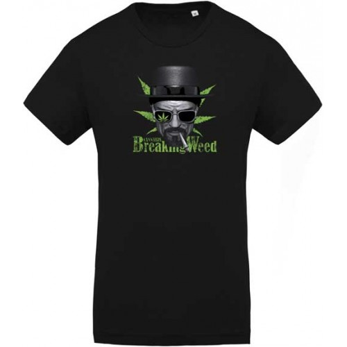 T-shirt Breaking Weed