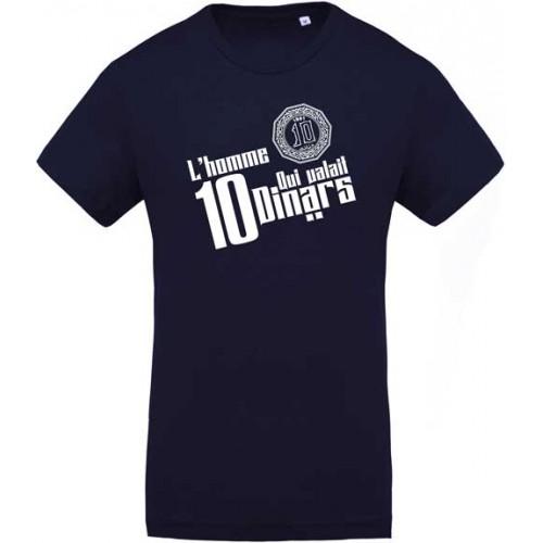 T-shirt L'homme qui valait 10 Dinars