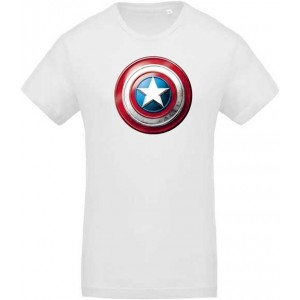 T-shirt Captain America bouclier