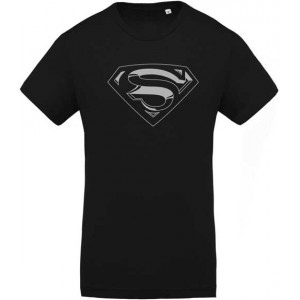 T-Shirt Superman argent