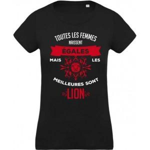 T-shirt signe lion