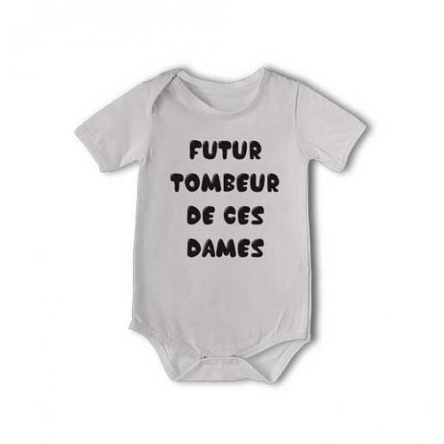 T-shirt et body  Futur tombeur