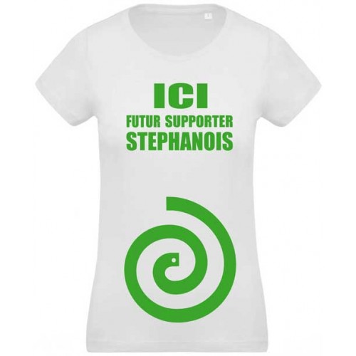 T-shirt Ici futur supporter Stéphanois