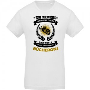 T-shirt hommes égaux bucherons
