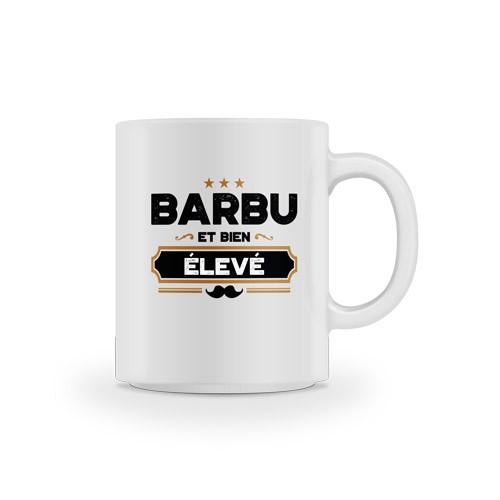 Mug Barbu et bien élevé