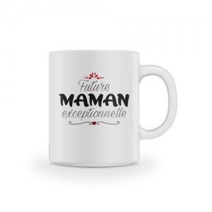 Mug future maman exceptionnelle