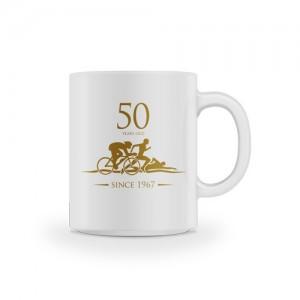Mug 50 years old