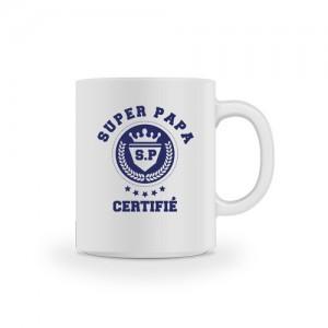 Mug certifié super papa