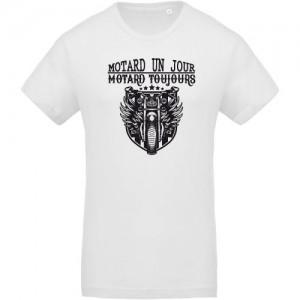 T-shirt Motard un jour motard toujours